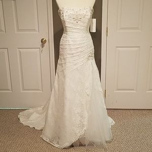 Women S Different Types Of Lace For Wedding Dress On Poshmark